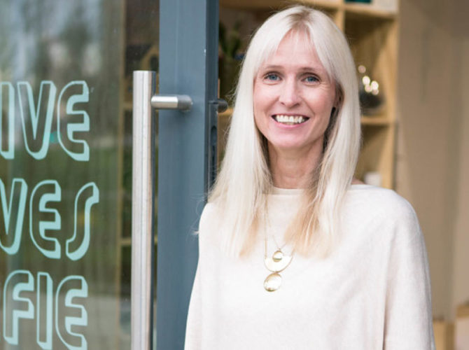 Molly Meets Colour Expert Karen Haller