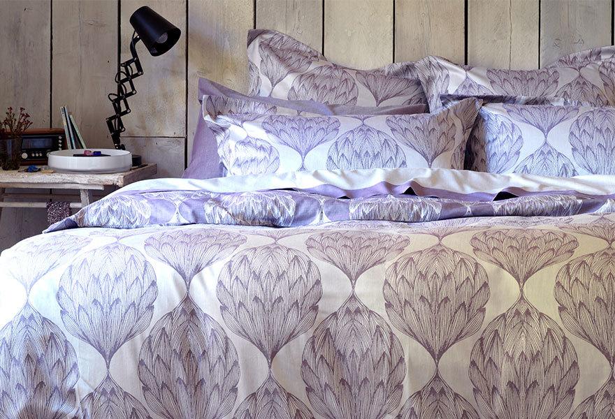 Artichokes Purple Bed Linen