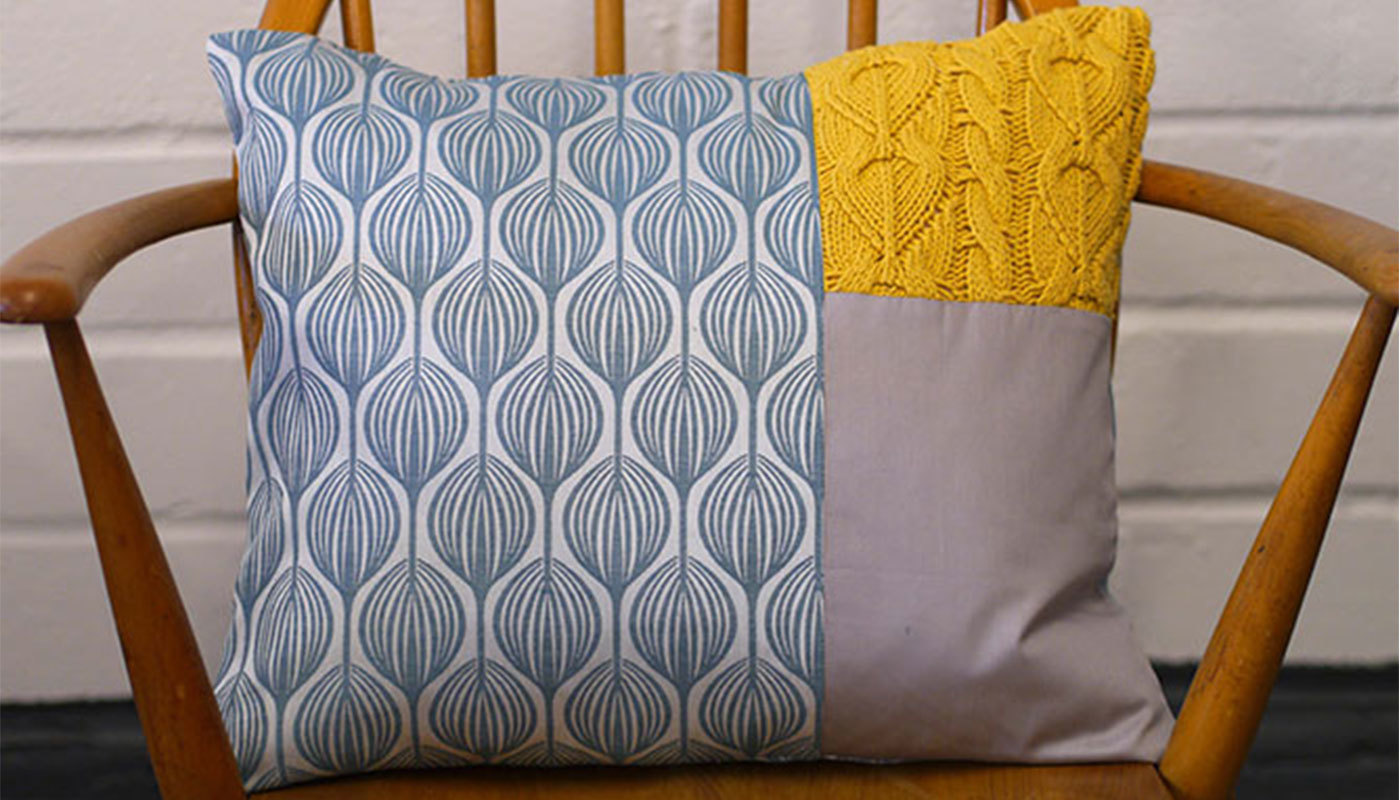 How To Make A Patchwork Pillow From A Pillowcase
