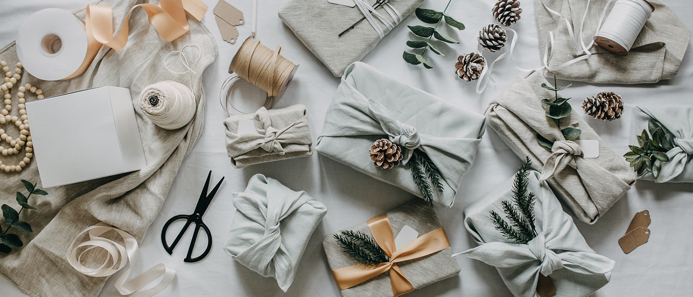 Zero-waste wrapping