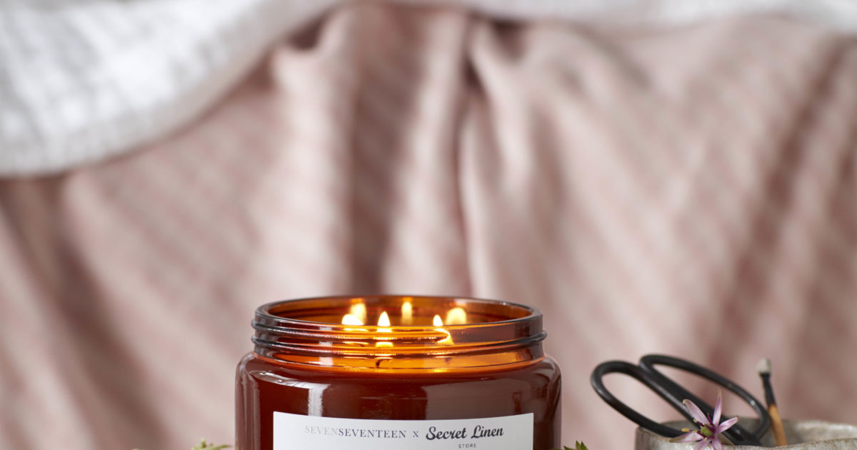 Shhh Lavender And Bergamot Scented Candle 500ml Secret