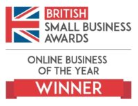 Online Business Of The Year Winner Logo