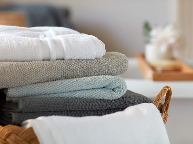 Plain Luxury Towels