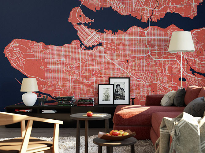 Custom Wallpaper Maps