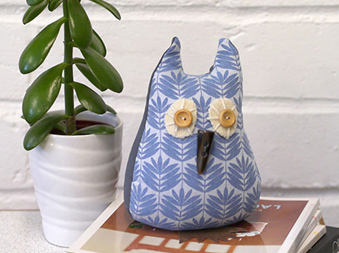 How to Make a Scented Owl Door Stop