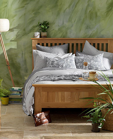 How We Style Our Grey Bed Linen