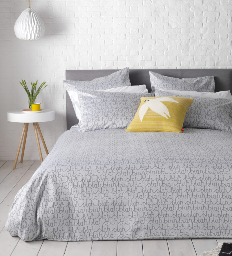 Blah Blah Bed Linen Donna Wilson Secret Linen Store