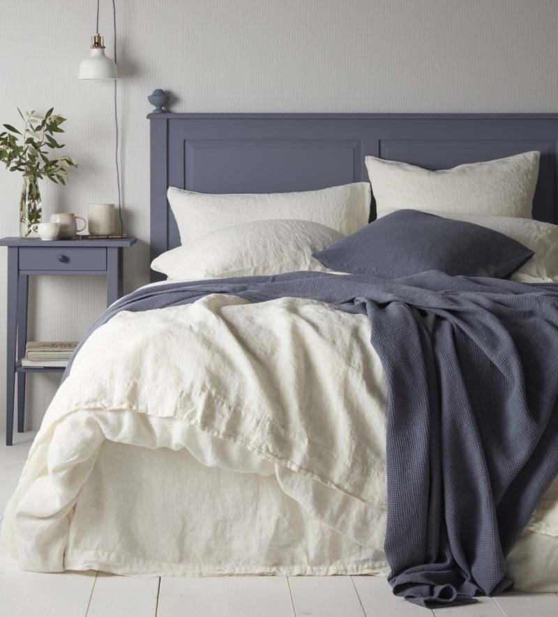 100 Linen Cream Duvet Cover Natural Bedding Secret