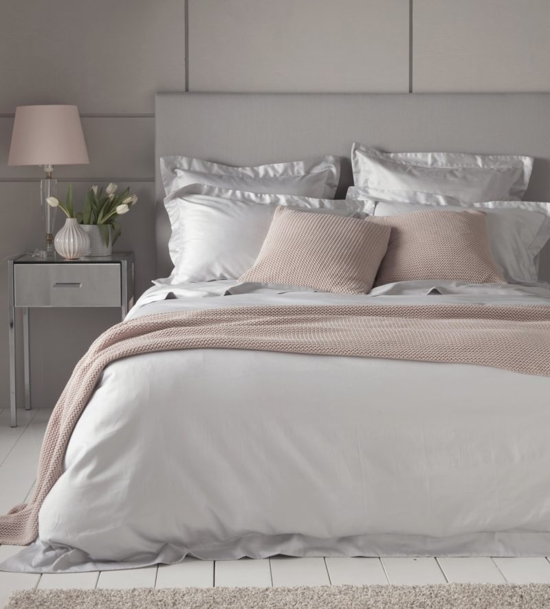 Luxury Light Grey 600 Thread Count Bed Linen Secret