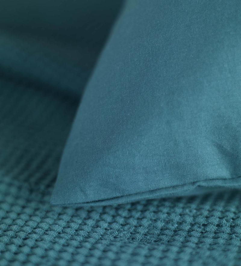 Teal Cotton Percale Bed Linen Secret Linen Store