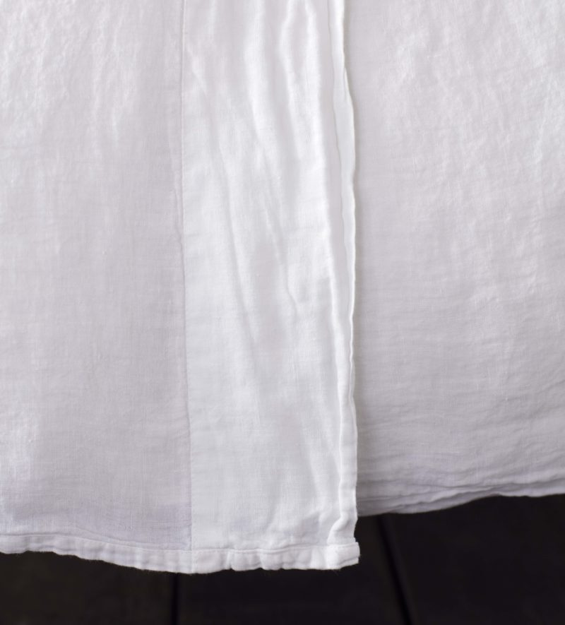 White Linen Flat Sheets French Flax Secret Linen Store