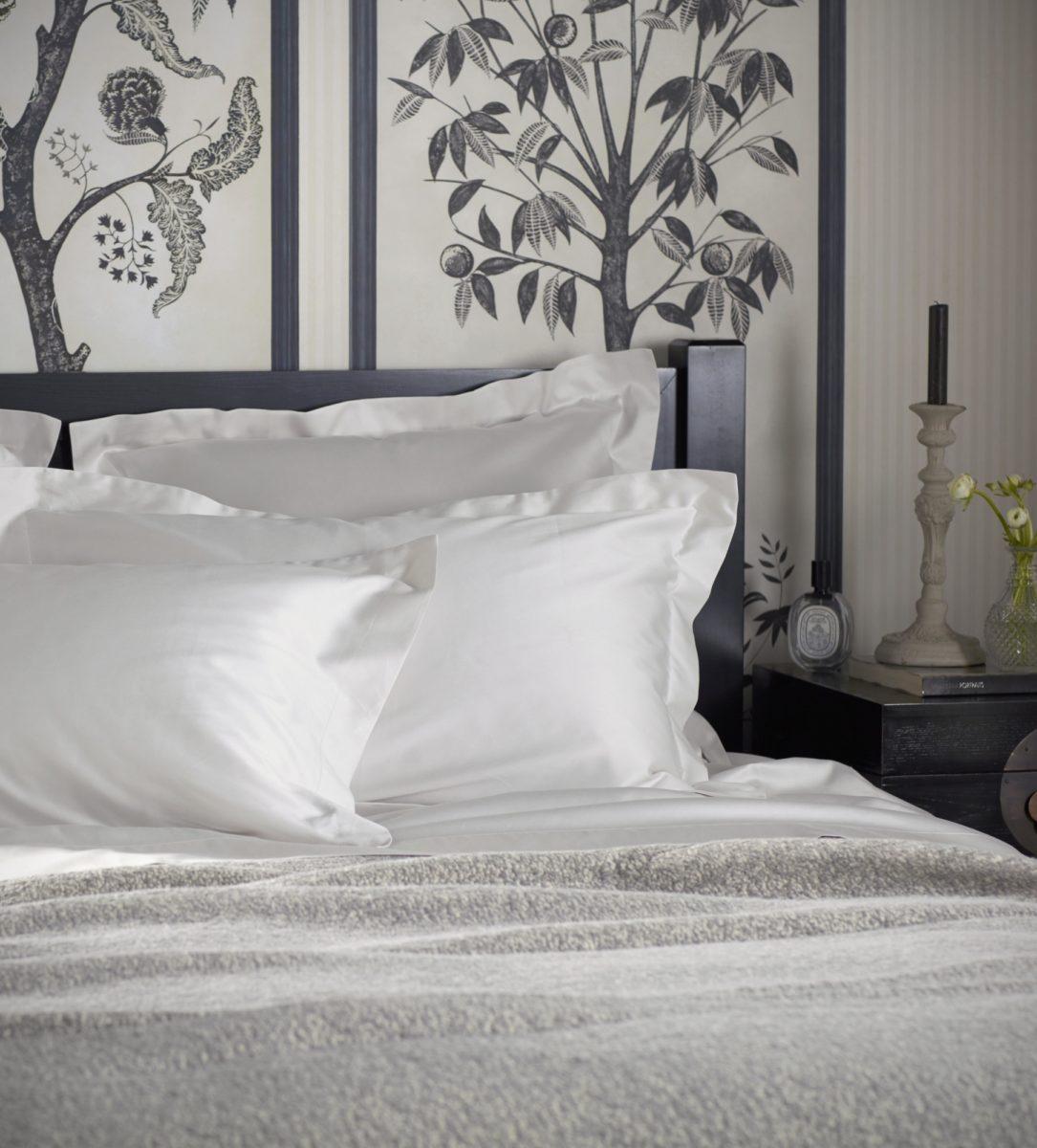 Antique White Luxury Oxford Pillowcase | Secret Linen Store