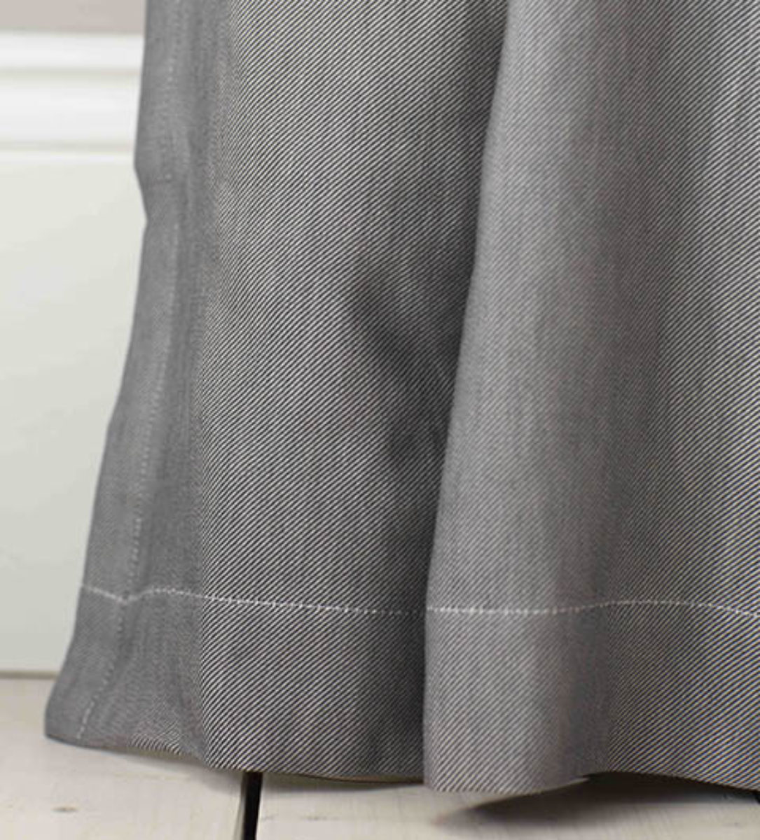 terrys products grey aviemore made fabrics curtains in eyelet uk ready lined