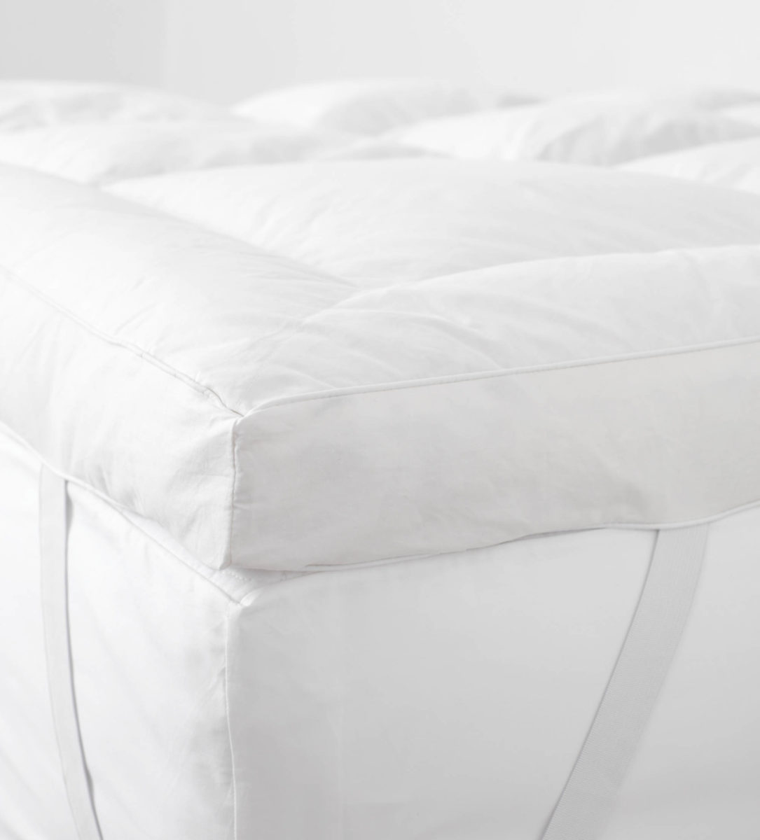 Hungarian Goose Down Topper Our Great Goose Secret Linen Store