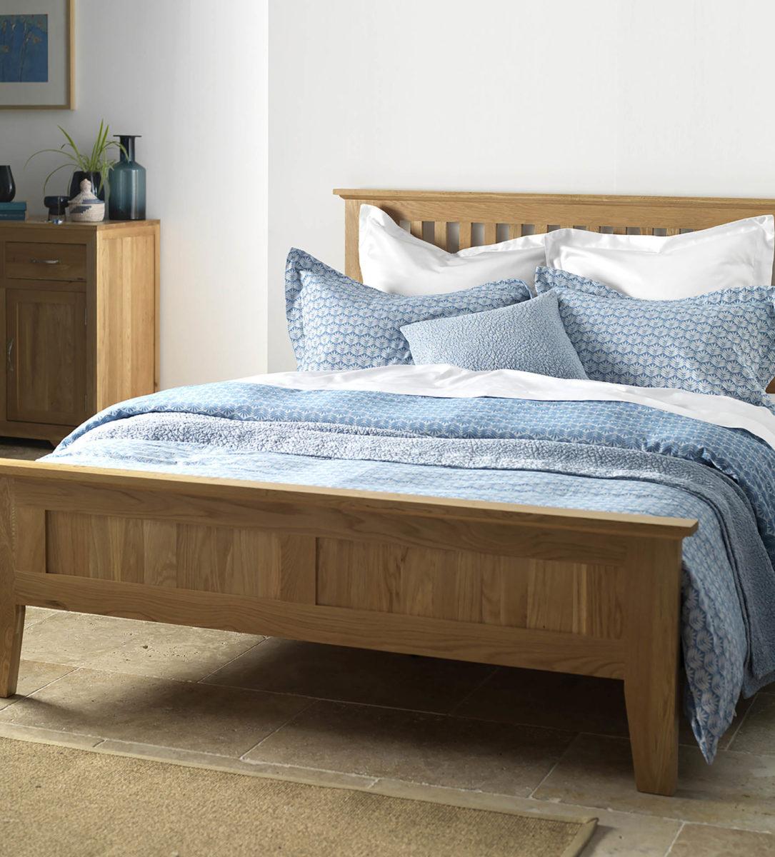 Leafy Turquoise Bed Linen - 100% Cotton | Secret Linen Store