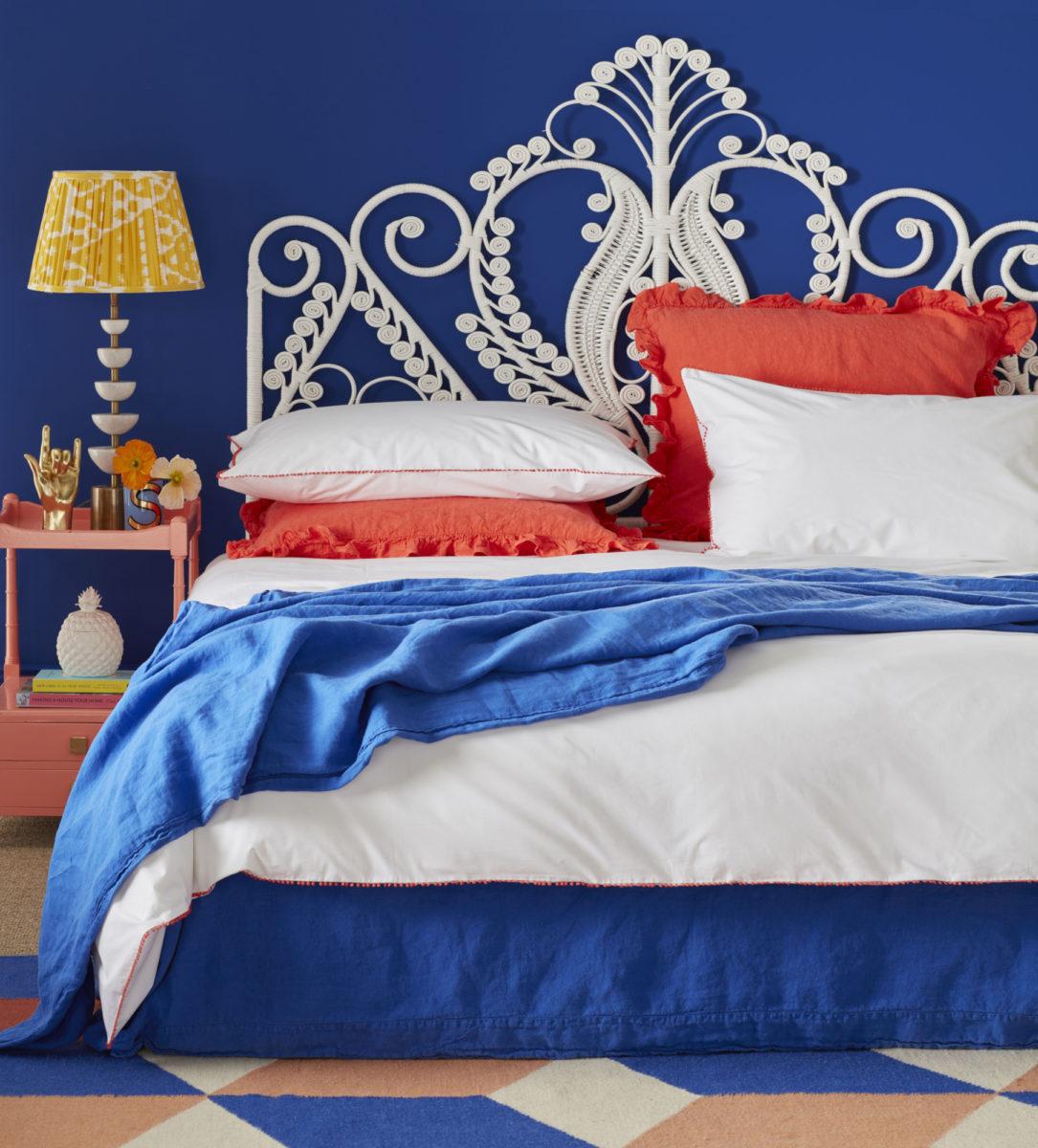 Pom Pom Coral Bed Linen Secret Linen Store
