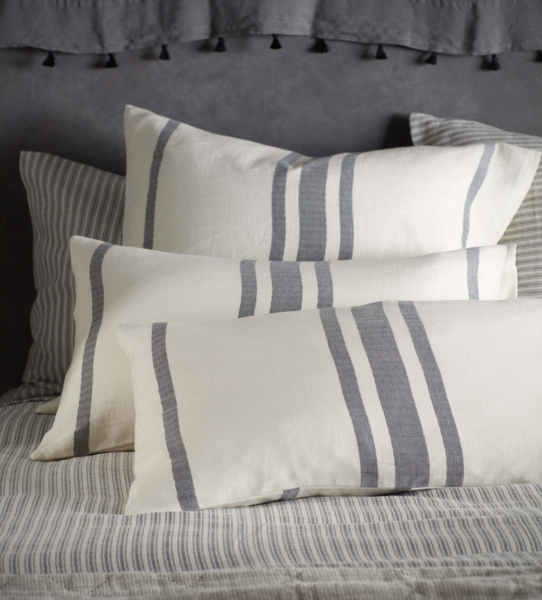8726d9cc842c Ticking Stripe Cushion Cover | Secret Linen Store
