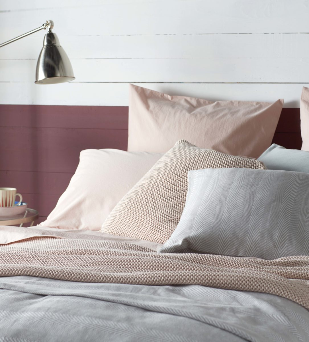 Pink Bedding Set 100 Cotton Percale Secret Linen Store