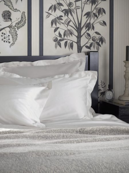 600 Thread Count Antique White Luxury Housewife Pillowcase