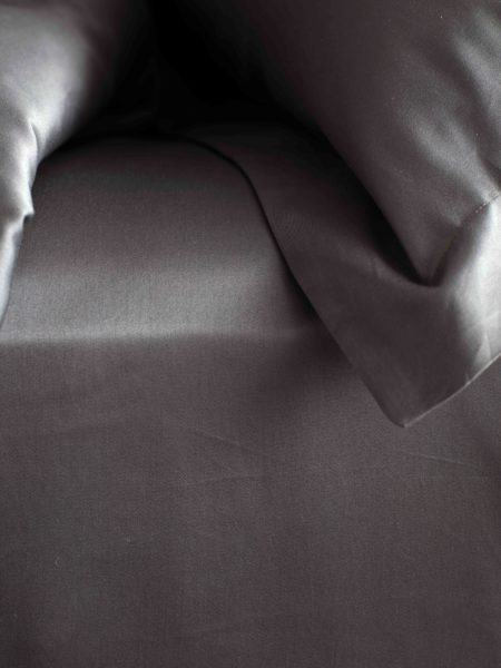 600 Thread Count Charcoal Grey Luxury Bed Sheets