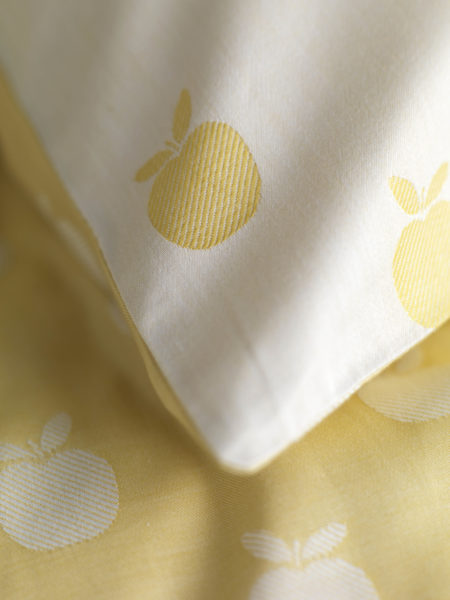 Apples Yellow Children's Bed Linen