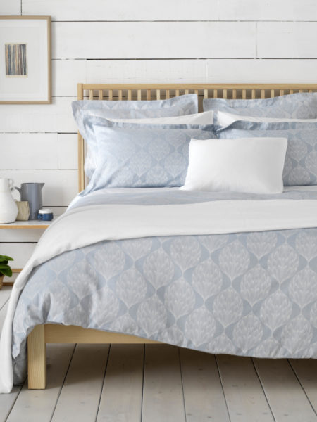 Artichokes Blue Bed Linen