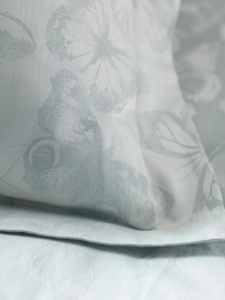 Butterfly Duck Egg Pillowcase