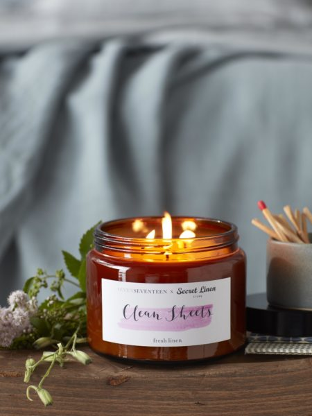 Clean Sheets (Fresh Linen) Candle - 500ml