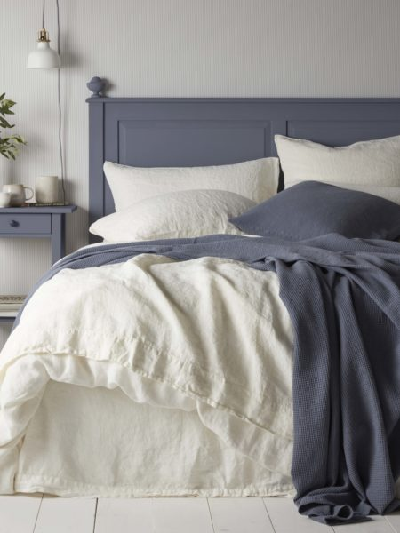 Cream 100% Linen Duvet Cover