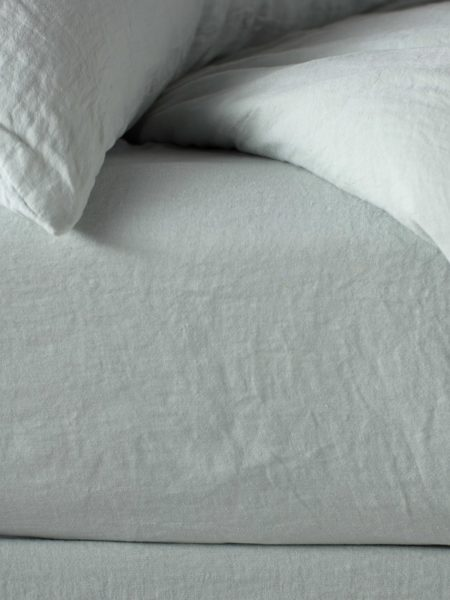 Duck Egg 100% Linen Bed Sheets
