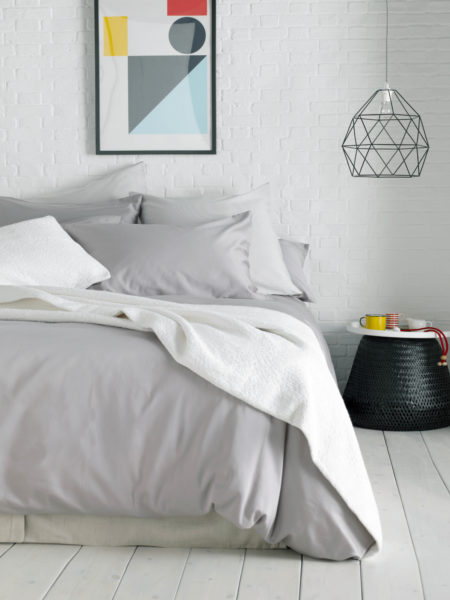 Essential Dove Grey Duvet Cover