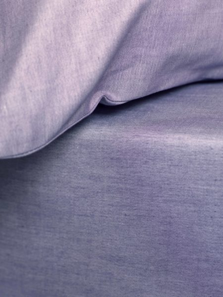Essential Purple Fitted Sheet