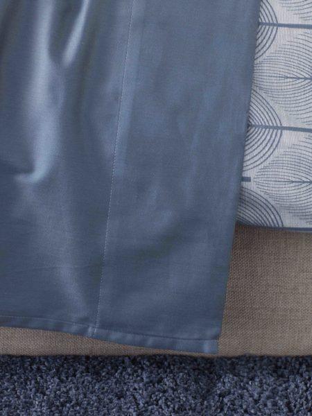 Essential Slate Blue Flat Sheet