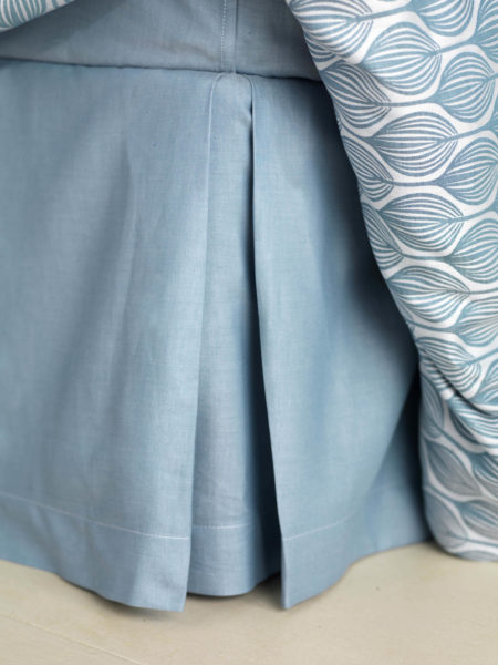 Essential Teal Box Pleat Valance
