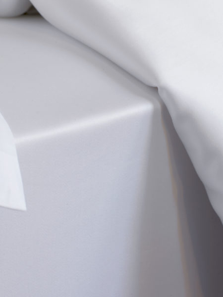 Essential White 300 Thread Count Bed Sheets