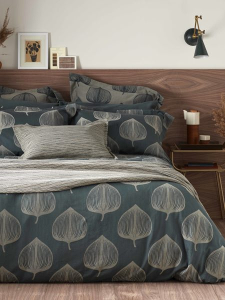 Hazel Forest Green Bed Linen
