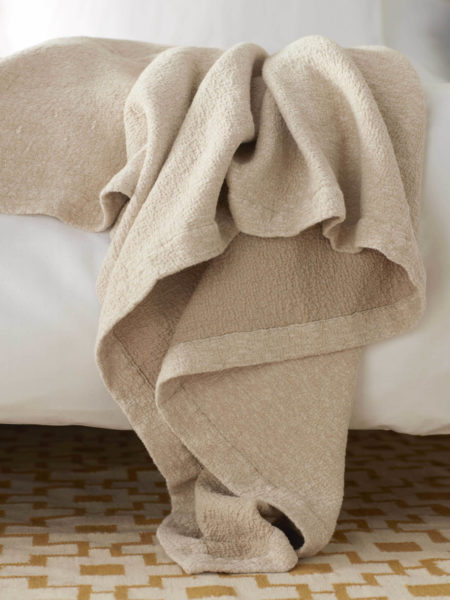 Laundered Sand Bed Throw