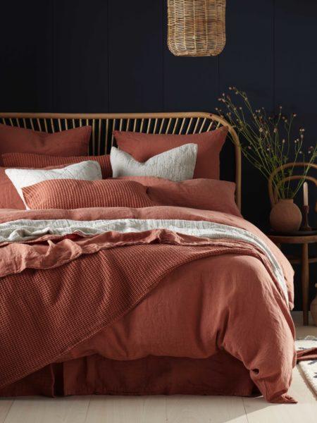 Spice 100% Linen Bed Linen