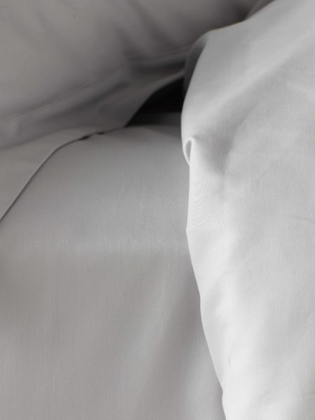Luxury 600 Thread Count Light Grey Bed Sheets