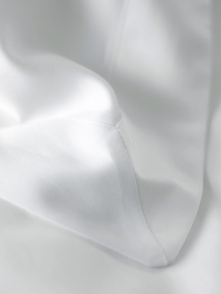 Luxury 600 Thread Count White Oxford Pillowcase