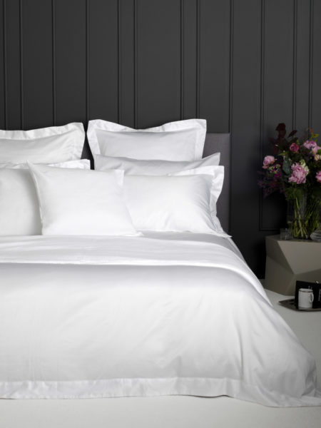 Luxury 600 Thread Count White Duvet Cover