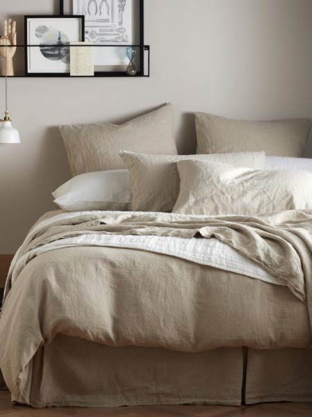 Natural 100% Linen Duvet Cover