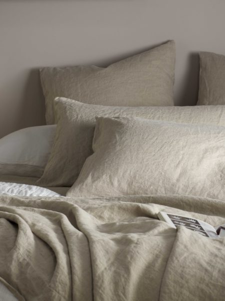 Natural 100% Linen Pillowcase