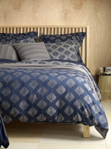 Pinecones Midnight Blue Bed Linen