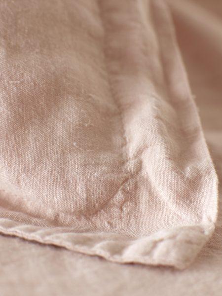 Blush Pink 100% Linen Oxford Pillowcase