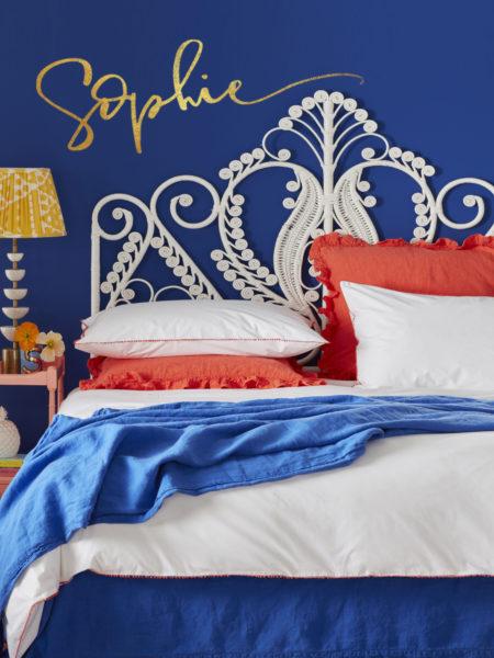 Pom Pom Coral Bed Linen