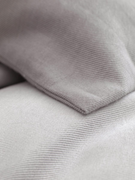 Relaxed Denim Dove Grey Pillowcase
