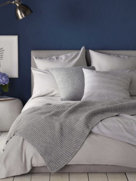 Relaxed Denim Dove Grey Duvet Cover