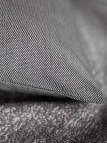 Relaxed Denim Graphite Grey Pillowcase