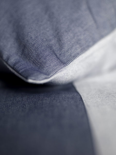 Relaxed Denim Navy Pillowcases